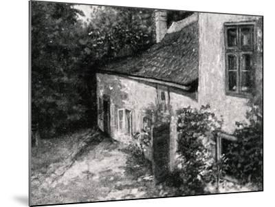 Birth House of Hugo Wolf--Mounted Giclee Print