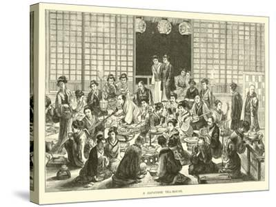 A Japanese Tea-House--Stretched Canvas Print