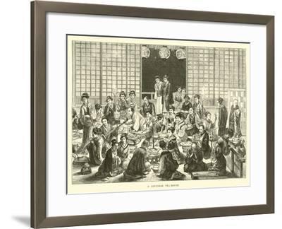 A Japanese Tea-House--Framed Giclee Print