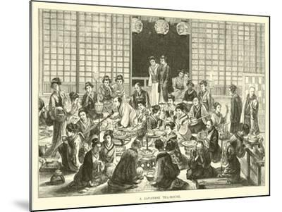 A Japanese Tea-House--Mounted Giclee Print