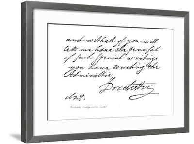 Dorchester, Dudley, Carlton--Framed Giclee Print