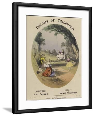 Cover of Dreams of Childhood--Framed Giclee Print