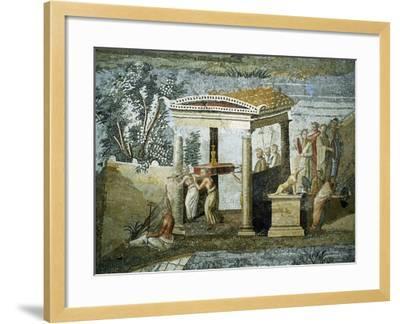 Nile Mosaic--Framed Giclee Print