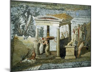 Nile Mosaic--Mounted Giclee Print
