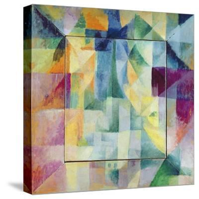 Simultaneous Windows on the City, 1912-Robert Delaunay-Stretched Canvas Print