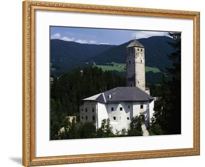 Monguelfo Castle--Framed Giclee Print