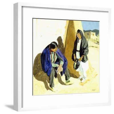 Noon Shadows-Walter Ufer-Framed Giclee Print