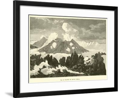 Crater of Mount Hekla--Framed Giclee Print
