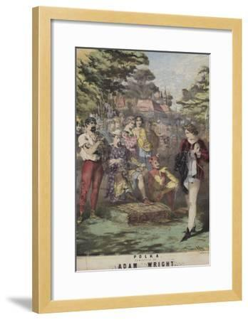 As You Like It, Polka, Adam Wright-Alfred Concanen-Framed Giclee Print