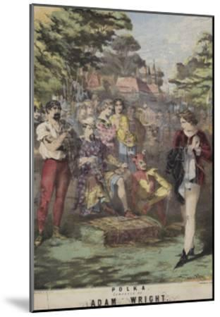 As You Like It, Polka, Adam Wright-Alfred Concanen-Mounted Giclee Print