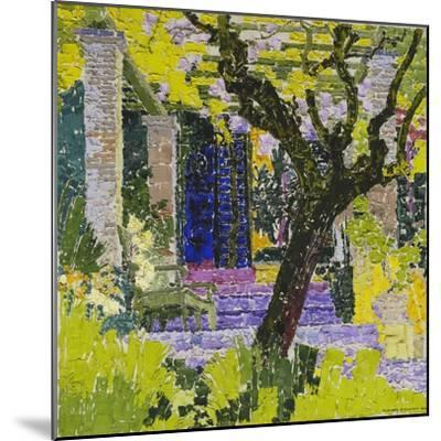 The Lively Village; Le Village Anime, C.1923-Gustave Loiseau-Mounted Giclee Print