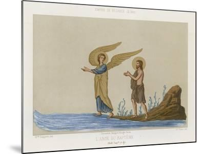 The Angel of Baptism--Mounted Giclee Print
