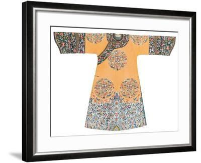 Manchu Style Robe--Framed Photographic Print