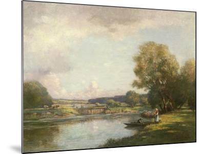 Summer at Hemingford Grey-William Kay Blacklock-Mounted Giclee Print