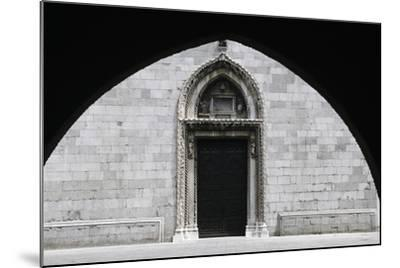 Entrance, Cathedral of Cividale Del Friuli--Mounted Giclee Print