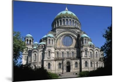Maritime Cathedral--Mounted Giclee Print