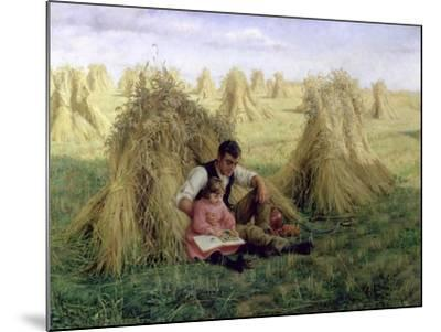 The Story of Ruth and Boaz, 1894-Frank Topham-Mounted Giclee Print
