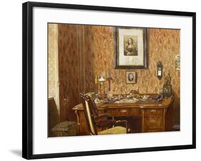 Interior of Johannes Brahms'--Framed Giclee Print