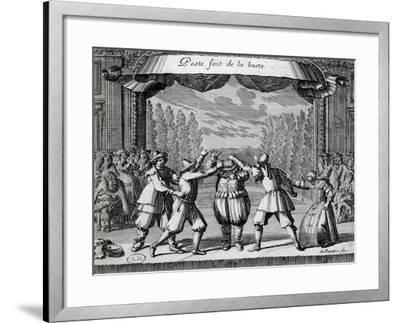 Scene from Play--Framed Giclee Print