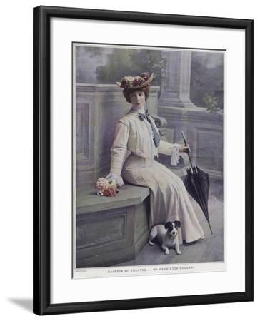 Henriette Roggers, French Actress--Framed Giclee Print