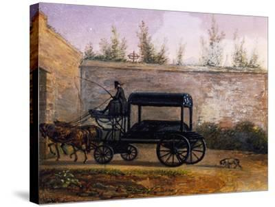 The Funeral of Wolfgang Amadeus Mozart--Stretched Canvas Print