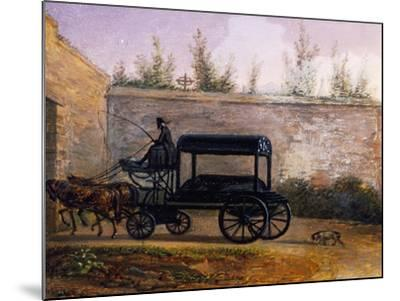 The Funeral of Wolfgang Amadeus Mozart--Mounted Giclee Print