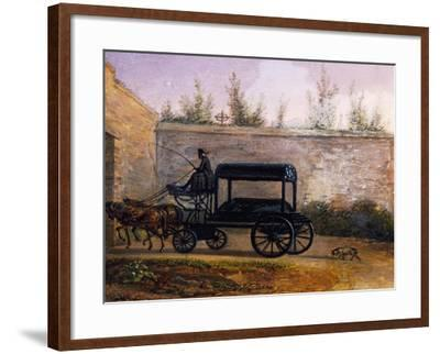 The Funeral of Wolfgang Amadeus Mozart--Framed Giclee Print