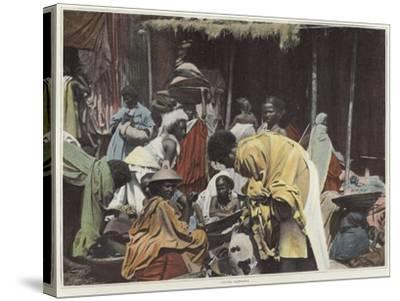 Women in Harar--Stretched Canvas Print