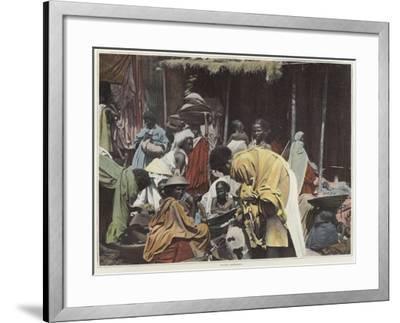 Women in Harar--Framed Photographic Print