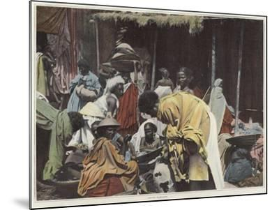 Women in Harar--Mounted Photographic Print
