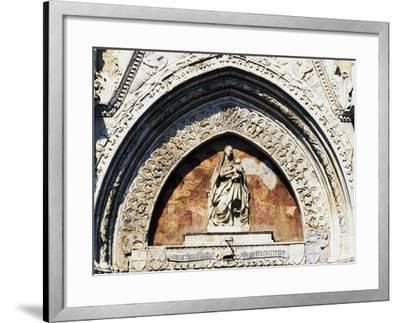 Virgin and Child Statue, by Pietro De Bonitate--Framed Giclee Print