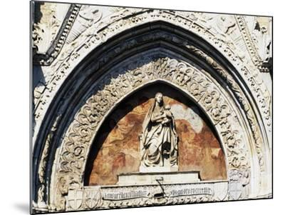 Virgin and Child Statue, by Pietro De Bonitate--Mounted Giclee Print
