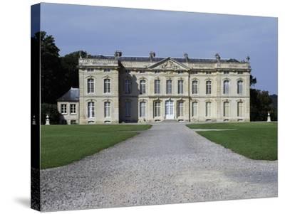 Bourg Saint Leonard Castle--Stretched Canvas Print