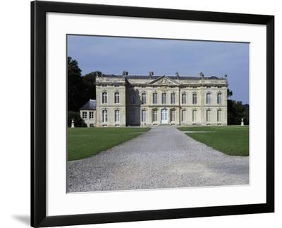 Bourg Saint Leonard Castle--Framed Giclee Print