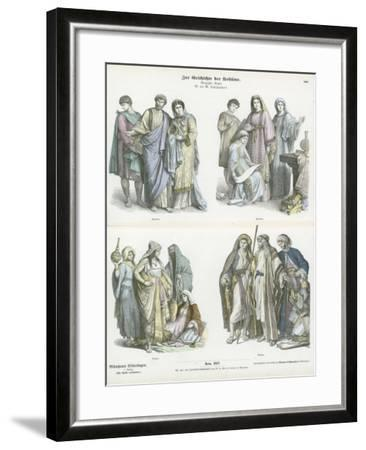 Christians and Arabs, 4th-6th Century--Framed Giclee Print
