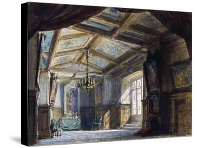 Set Design by Philippe Chaperon--Stretched Canvas Print