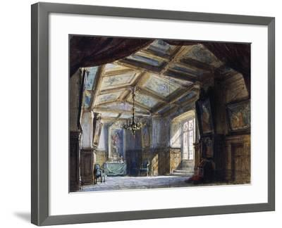 Set Design by Philippe Chaperon--Framed Giclee Print
