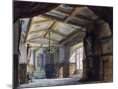 Set Design by Philippe Chaperon--Mounted Giclee Print