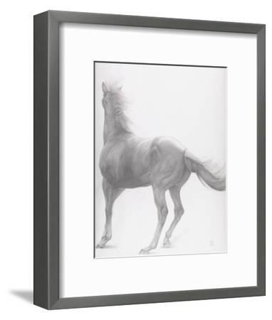 Kicking Off, Series 2, 2012-Emma Kennaway-Framed Giclee Print