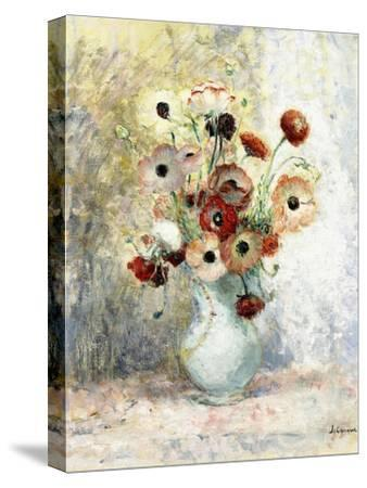 Bouquet of Anemones-Henri Lebasque-Stretched Canvas Print