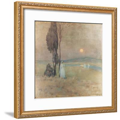 The Communion, 1893-Henri Eugene Augustin Le Sidaner-Framed Giclee Print