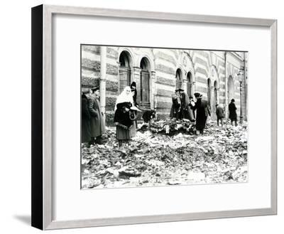 Revolution in St. Petersburg, February 1917--Framed Photographic Print