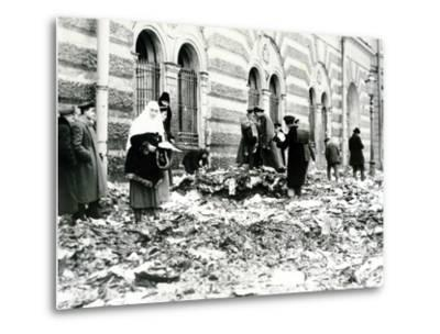 Revolution in St. Petersburg, February 1917--Metal Print