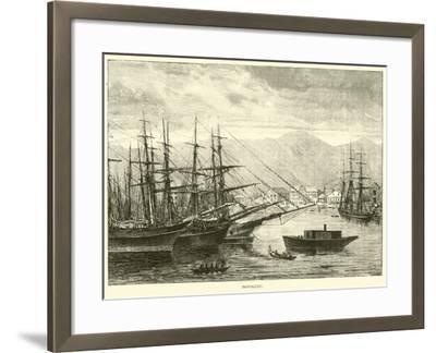 Honolulu--Framed Giclee Print