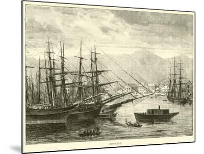Honolulu--Mounted Giclee Print