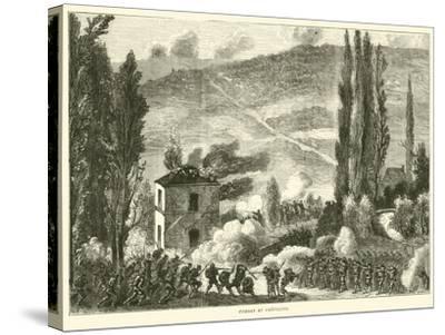 Combat at Chatillon, October 1870--Stretched Canvas Print