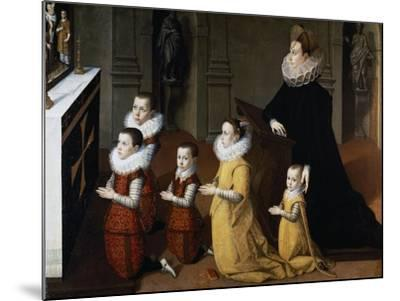 Family Portrait of Eleonora De Medici--Mounted Giclee Print