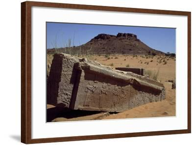 Ruins of Temple of Amun--Framed Giclee Print