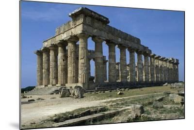 Temple of Hera--Mounted Giclee Print