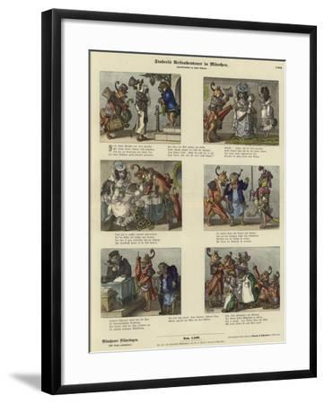Staberl's Adventures on a Trip to Munich--Framed Giclee Print